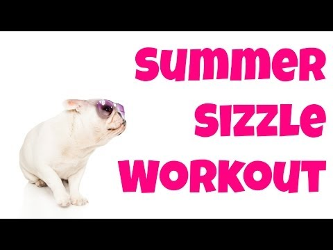 Shape Up For Bathing Suit Season! 14-Minute Summer Sizzle Workout