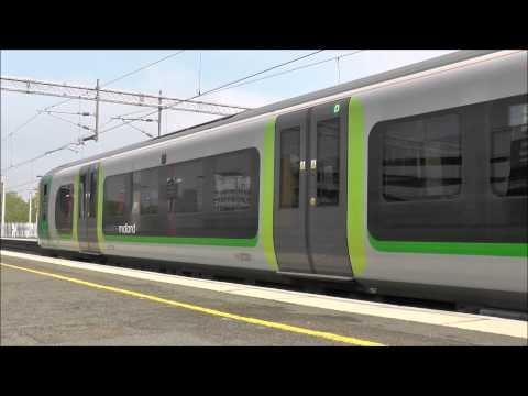 Trains at Birmingham International - Pendolino, Desiro, Voyager - 21/04/2014