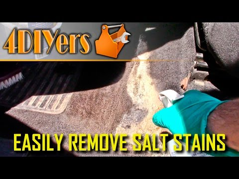 DIY: How to Easily Remove Salt Stains
