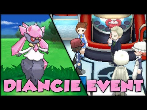 Pokémon X and Y | Diancie Event and Shiny Diancie!