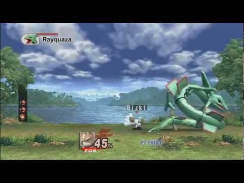 SSBB (SSE Intense Mode) - Stage 6 - Rayquaza! (With Music & Texture Hacks)