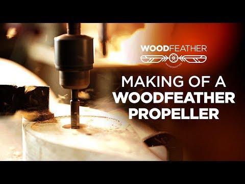 Making of a WoodFeather Propeller