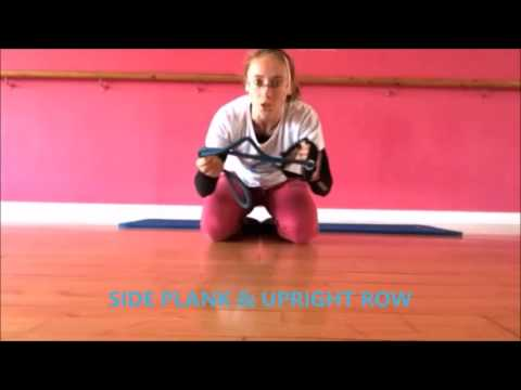 Lower Body & Core Workout with Resistance Band: Flat Abs, Firm Thighs, Sexy Butt