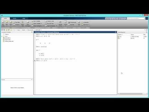 How to Solve Polynomial Equations in MATLAB. [HD]