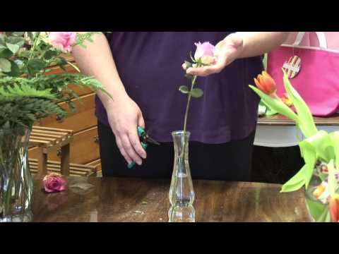 Flower Arrangements : How to Revive Wilting Cut Flowers