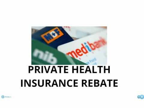 Private Health Insurance Rebate - 2 minute update