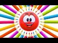 Colorful Crayon WonderBalls Funny Cartoons For Children Cartoon Candy