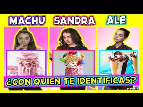 MACHU, SANDRA O ALE ¿CON QUIEN TE IDENTIFICAS? - MACARENA GARCIA | TEST DE PERSONALIDAD