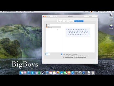 How to Change Keyboard Language on Mac os