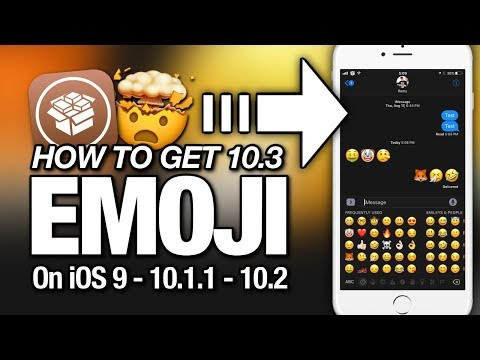 How To Get NEWEST 10.3 EMOJI's On iOS 9 - 10.1.1 - 10.2 For iPhone - iPad - iPod Touch