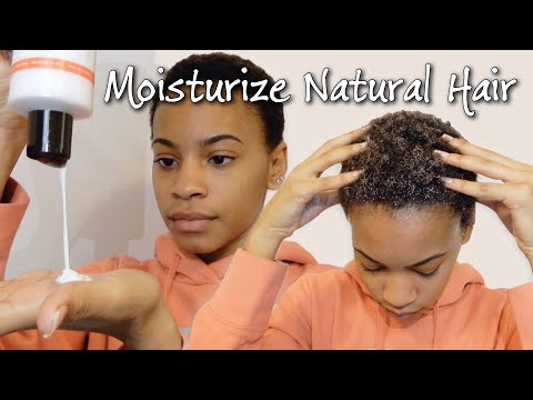 How I Moisturize My Dry Natural Hair