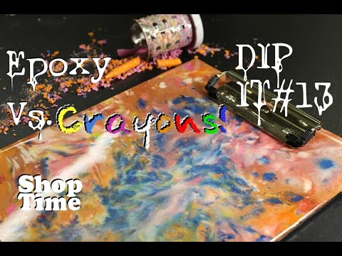 Dip It #13: The Crayon & Paper Clipboard