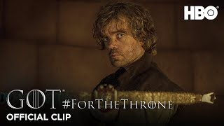 """""""Tyrion and Tywin"""" #ForTheThrone Clip 