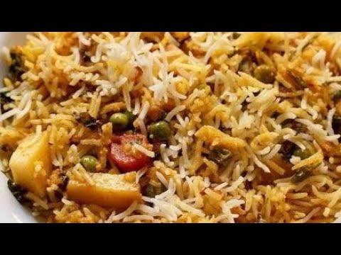 Vegetable Dum Biryani | How to Make Vegetable Biryani Traditional Indian Food | Biryani at Home
