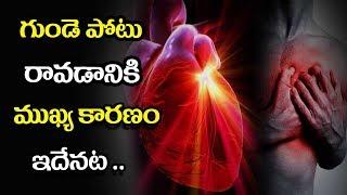 Heart Attack Symptoms and Causes - Mana Arogyam Telugu Health Tips