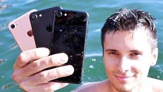 iPhone 7 Water Test! Secretly Waterproof?