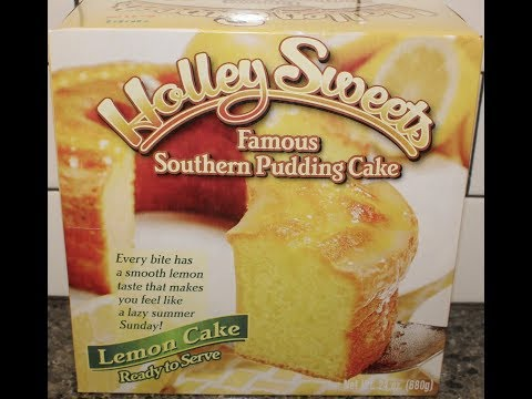 Holley Sweets Famous Southern Pudding Cake: Lemon Cake Review