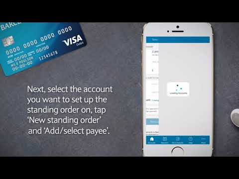 How to manage standing orders   Barclays Mobile Banking app