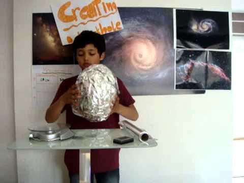 Phorms Science Fair 2015 Creating a Black Hole