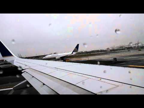 Newark Liberty International Airport - Take off New York Aruba