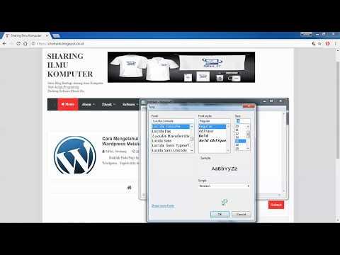 Cara Mengetahui username Wp-Admin Pengguna Wordpress Menggunakan Browser Chorme