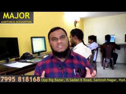 Major Accounting - International Accounting Institute in Hyderabad