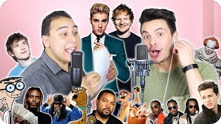 Download Ed Sheeran & Justin Bieber - ″I Don't Care″ Impersonation Cover (LIVE ONE-TAKE!) Video