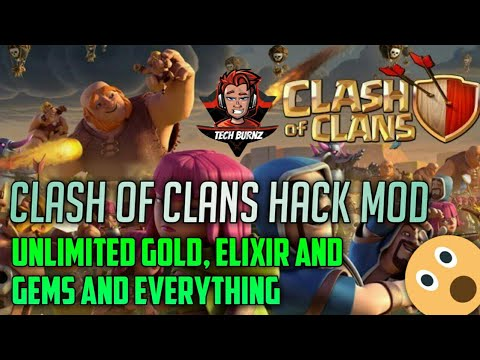 Clash of clans Latest Hack mod!! Unlimited Gold, elixir and Gems | No root! Private server