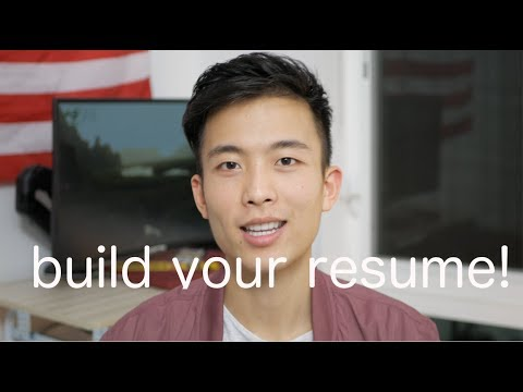 how to build your resume as a software developer