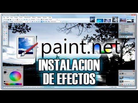 Paint.NET - Efectos (Instalacion) - Tutorial