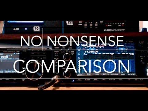 No Nonsense Icom 7300 vs 7610 Comparison Followup Video