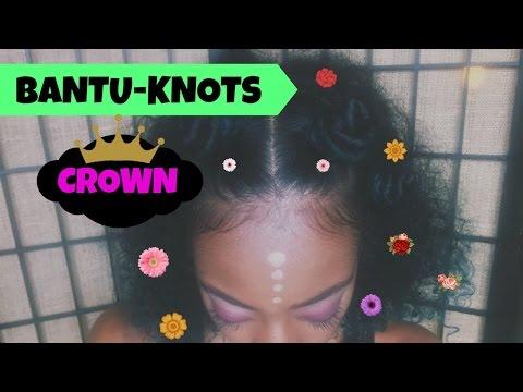 Bantu Knots- Crown