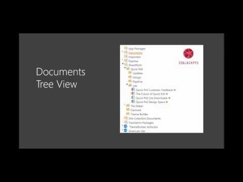 Documents Tree View 2016