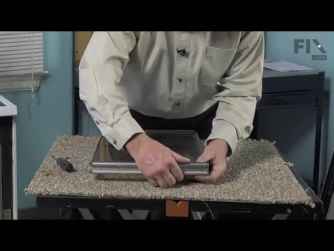 Maytag Range Repair – How to replace the Inner Door Glass Pane