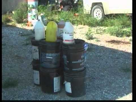 Get rid of your hazardous waste properly