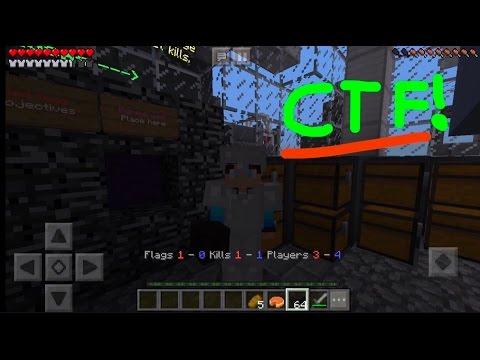 Minecraft PE (MCPE) Server Testen Lifeboat CTF (capture the flag)