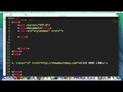 HTML Tutorial   How to Hide a Link in HTML