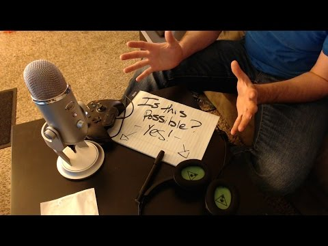 How to use a USB Mic with Turtle Beach Headphones