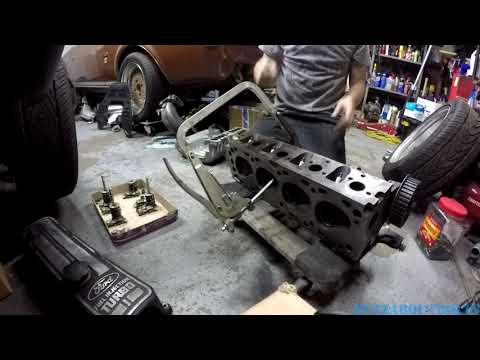 How to use Craftsman valve spring removal and installation tool