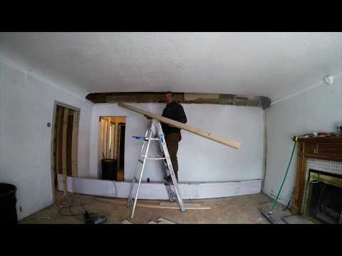 Stair wall removal to open up staircase