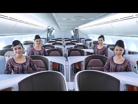 The New Singapore Airlines Boeing 787-10