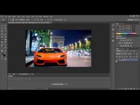 Photoshop CS6 Tutorials - How to make Color Splash effect in Photoshop CS6 (Soufiane4 Tutorials)