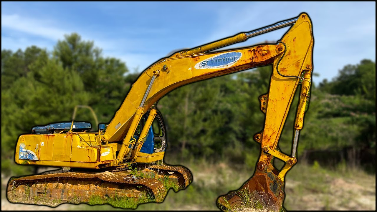 LEFT TO ROT! Will This Excavator Start and DIG again?