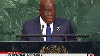 Akufo-Addo delivers maiden speech to world leaders at event
