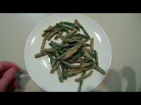 Crispy green bean fries (dollar tree food review)