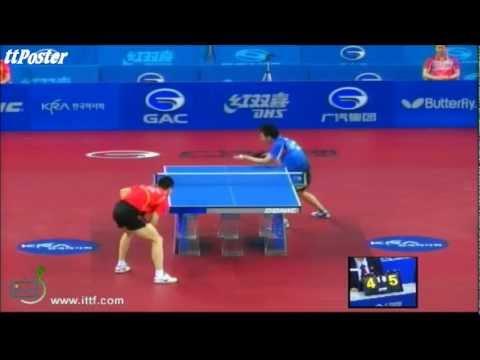 Korean Open 2012: Lee Sang Su-Ma Long