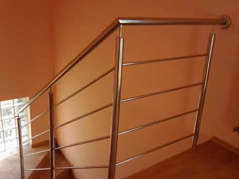 Paula - Stairs Railing With Horizontal Infill