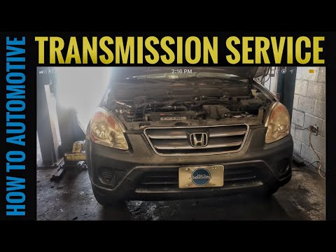 How to Perform a Transmission Service on a 2002-2006 Honda CR-V