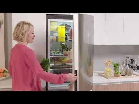 GE Appliances Bottom Freezer Refrigerator with Temp Select Zone (Model GLE12HSLSS)