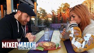 Sami Zayn & Becky Lynch debate WWE Mixed Match Challenge strategy
